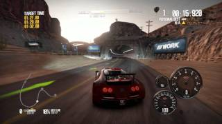 Need for Speed Shift 2 Unleashed Gameplay  BUGATTI On HD 4890
