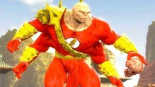 Mortal Kombat Komplete Edition - The Flash Goro & Dark Kahn Tag Ladder 4K Gameplay Playthrough