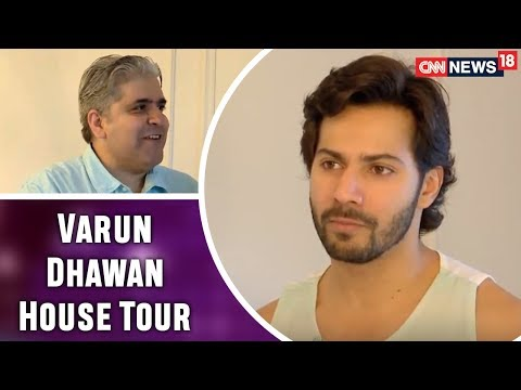 Varun Dhawan Opens his House and Heart for Rajeev Masand | Exclusive Interview | CNN News18