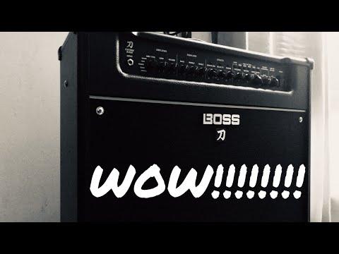 The BOSS Of Great Tone!! | BOSS Katana Artist 100