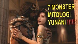 7 MONSTER MITOLOGI YUNANI  YANG DIPERCAYA KEBERADAANNYA !!!!!