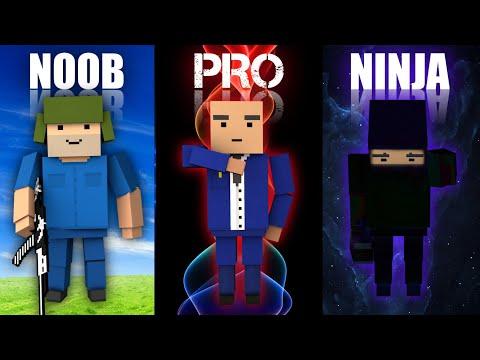 NOOB Vs PRO Vs NINJA | Block Strike (Quien Ganó?..) #6