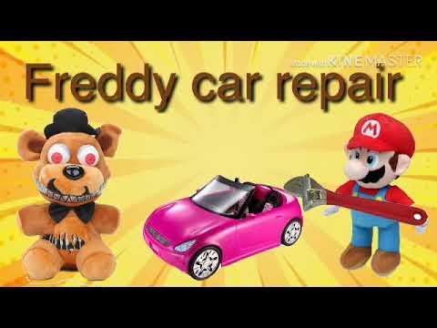 Fnaf plush: Freddy car repair
