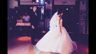Трогательный ТАНЕЦ жениха и невесты на свадьбе!