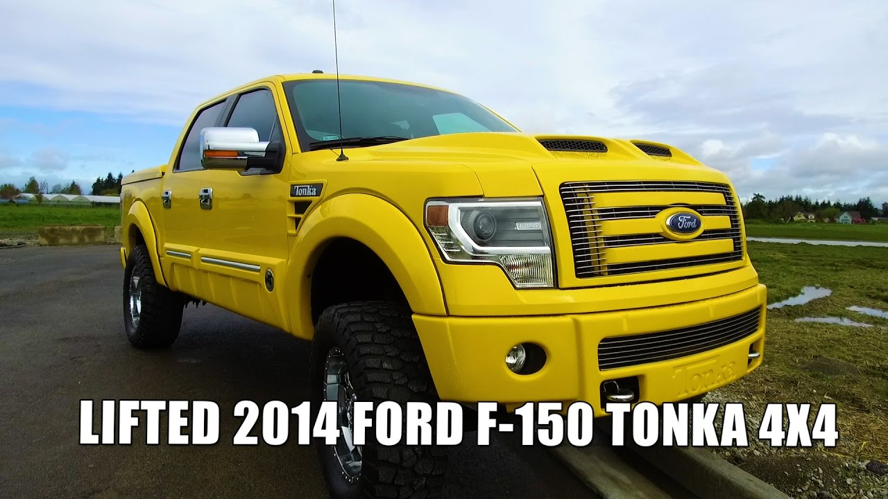 lifted 2014 ford f 150 tonka 4x4 youtube. Black Bedroom Furniture Sets. Home Design Ideas