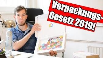 Verpackungsgesetz 2019 - Alle Risiken, Pflichten & Registrierung erklärt!