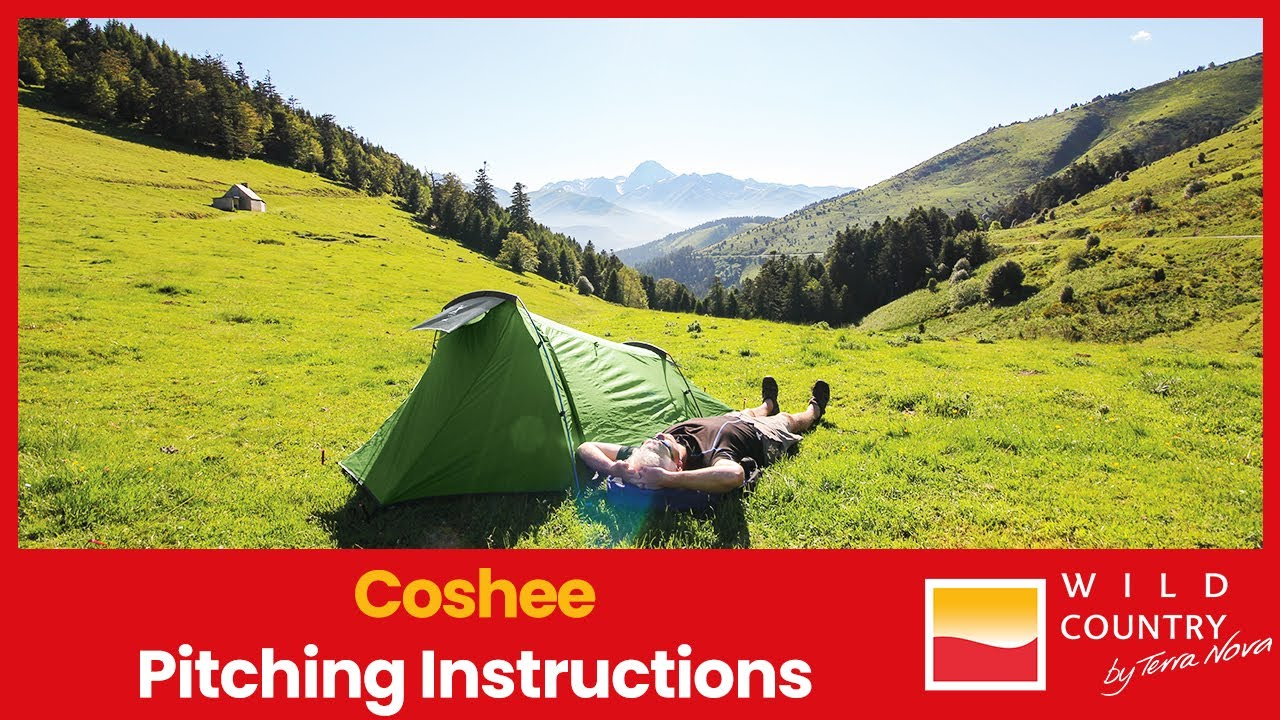 Coshee 2 Coshee 3 Tent Pitching Instructions From Wild Country