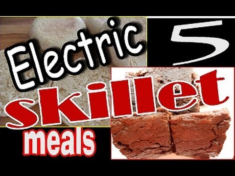 5 Easy Meals To Make In The Electric Skillet Youtube