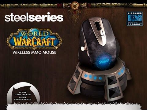 STEELSERIES WORLD OF WARCRAFT WIRELESS MMO GAMING MOUSE WINDOWS 10 DRIVERS