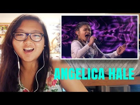Angelica Hale: 10 Year Old Singer Blows The Audience Away - America's Got Talent 2017 REACTION!!!