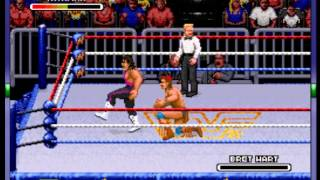 WWF Royal Rumble - -Tatanka Vs Bret Hart- Vizzed.com - User video