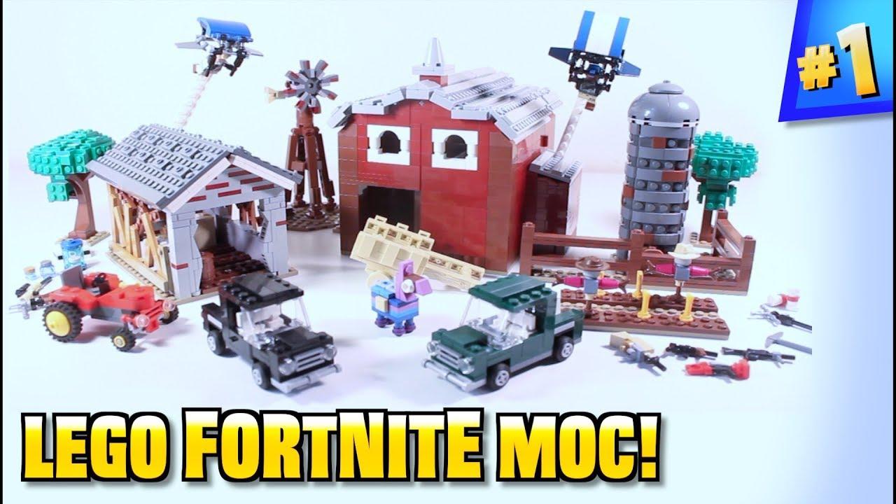 Lego Fortnite Fatal Fields Moc Youtube