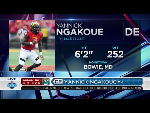 2016 NFL Draft Rd 3 Pk 69 | Jacksonville Jaguars Select DE Yannick Ngakoue