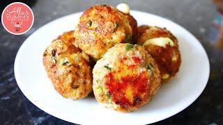 Homemade Meatballs | Cheesy Meatballs | Тефтели с сыром