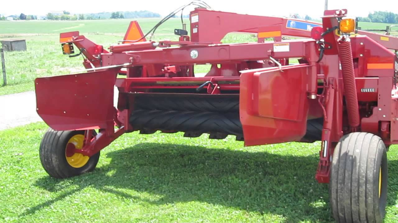 New Holland H7450 Discbine - like new! 13 foot width  Only $26 5K