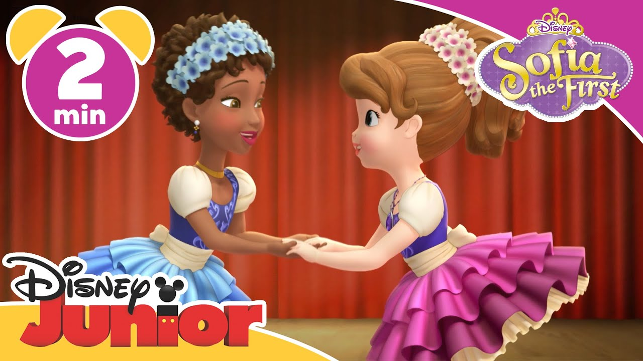Sofia The First The Princess Ballet Disney Junior Uk Youtube
