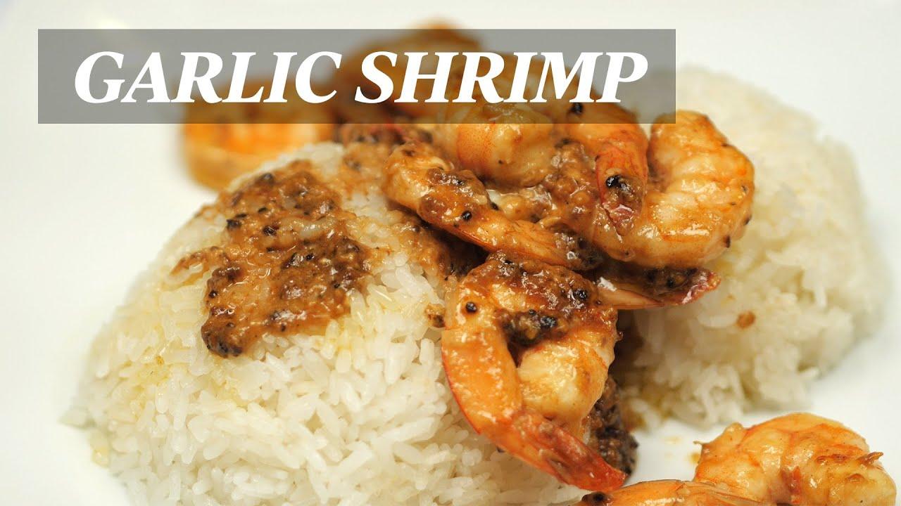 How to Make Hawaiian Style Garlic Shrimp