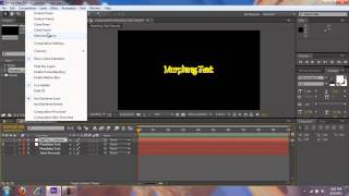 After Effects - Morphing Text | Jaivs