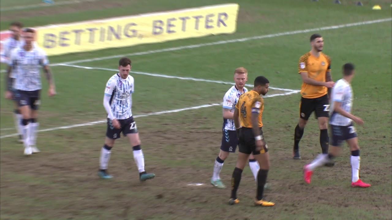 Ньюпорт Каунти  0-1  Кембридж Юнайтед видео