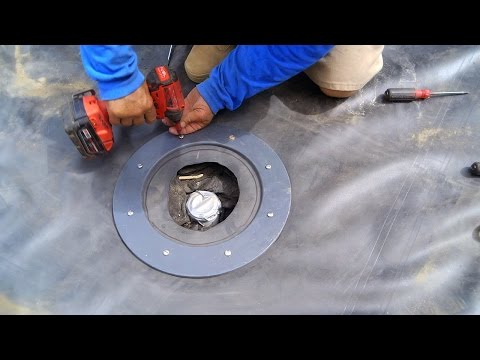 Pond Liner Bottom Drain Attachment 2 - KP 27