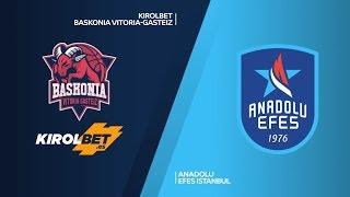 #EuroLeague 29. Hafta: KIROLBET Baskonia - Anadolu Efes