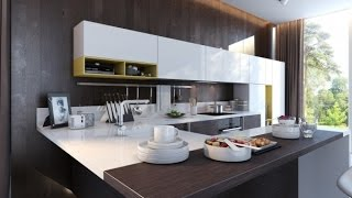Kitchen island- 10 Kitchen Design Ideas for Small House