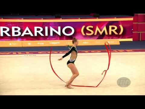 GARBARINO Monica (SMR) - 2019 Rhythmic Worlds, Baku (AZE) - Qualifications Ribbon