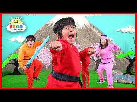 Ryan Ninja Family Kids Song