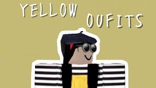 roblox • gelbe Outfits (Mädchen)