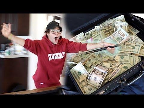 I WON $10,000 FROM MY BEST FRIEND!! (FREAKOUT)