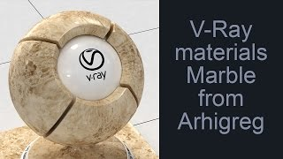 Vray Materials Marble And