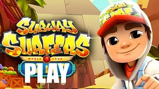 SUBWAY SURFERS Game Play