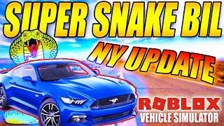 K'BER SUPER SNAKE BIL - SLANGEBIL?! -VEHICLE SIMULATOR (NY UPDATE) - DANSK ROBLOX - [#28]