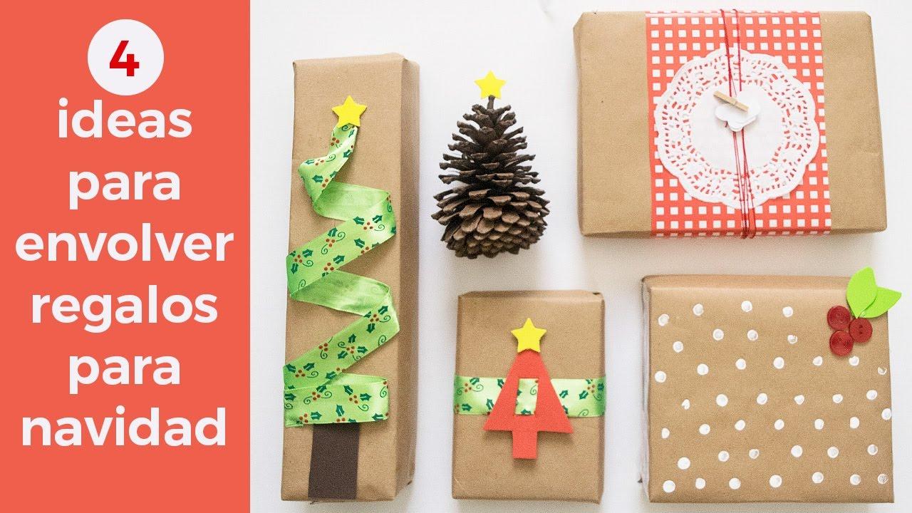 C mo envolver regalos para navidad youtube - Envolver regalos de navidad ...