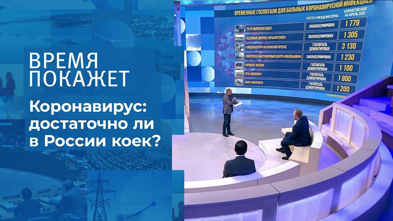 Время покажет. выпуск от 29.09.2020 COVID-19: как в России готовятся ко второй волне.