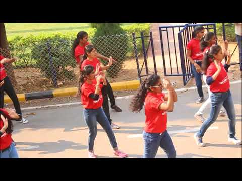 Osmania university flashmob(NIRMAAN 2K18)