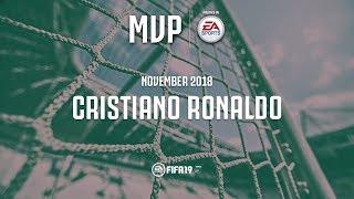 Cristiano Ronaldo wins the Juventus November MVP award with EA Sports!