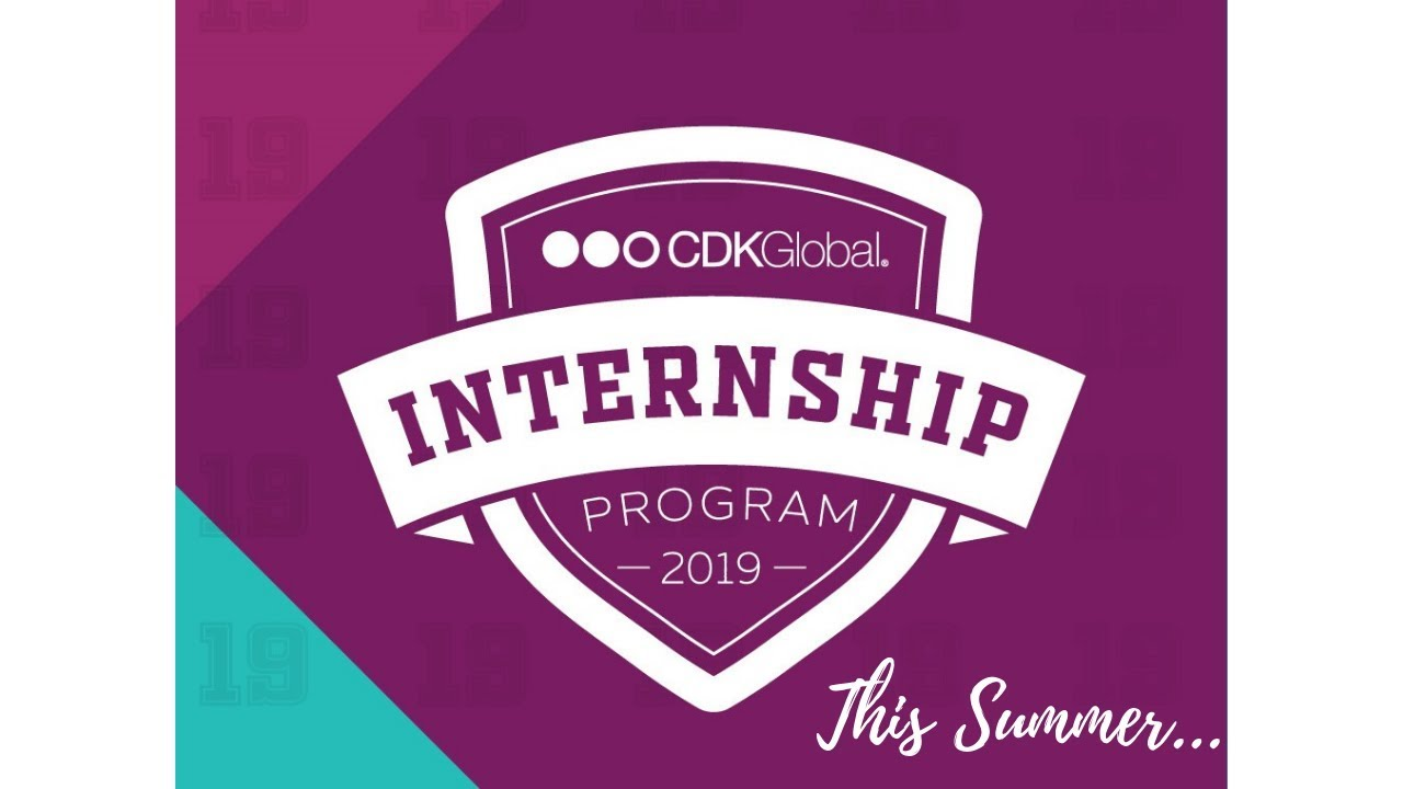 CDK Global Internship Program