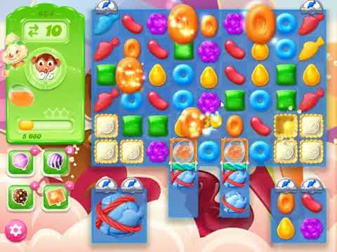 Candy Crush Jelly Saga Level 864 - NO BOOSTERS (FREE2PLAY-VERSION)
