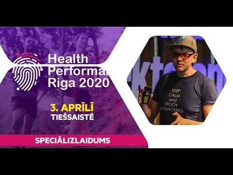Health Performance Riga - Māris Žunda - Veselības rīku kopums savā pašizaugsmē