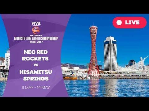 Nec Red Rockets v Hisamitsu Springs - Women's Club World Championship 2017 Kobe