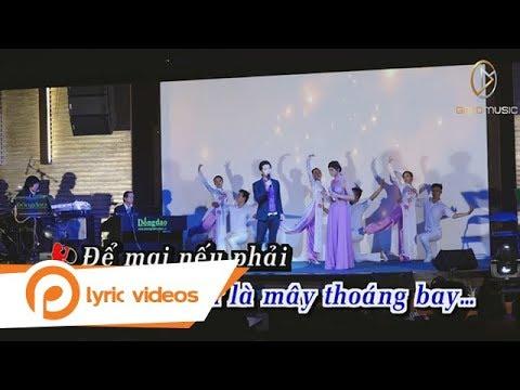 Chôn Vùi Tâm Sự -  Ngọc Thảo ft Hoài Phong  (Karaoke)