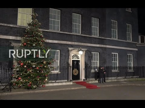 LIVE: PM Johnson welcomes foreign leaders at 10 Downing Street for NATO meeting: stakeout
