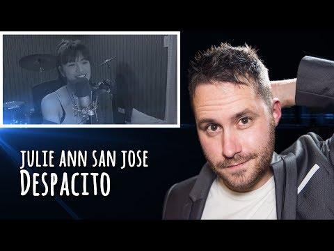 Julie Ann San Jose - Despacito Cover   REACTION