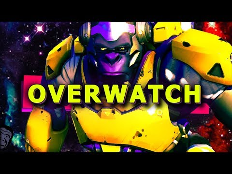 SILVER TO GOLD RANK SEASON 9 + SWITCH BACK TO WINSTON MAIN!? (Overwatch Competitive Gameplay)