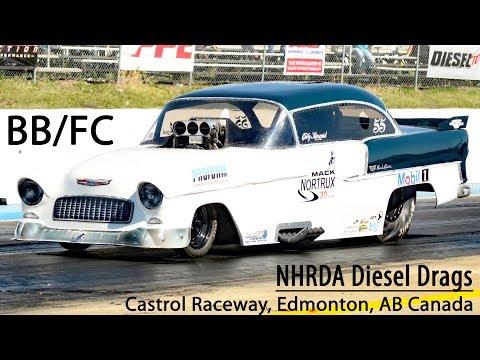 NHRDA Diesel Drags 2017, BB/FC Castrol Raceway, Edmonton, AB Canada August 12. 2017