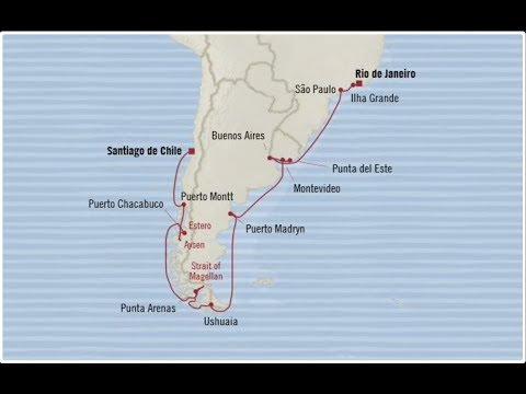 Marina Highlights Brazil  🇧🇷 to Chile 🇨🇱