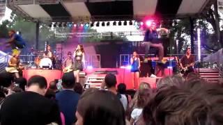 "Miranda Cosgrove Dancing Crazy Tour 2011 - ""bam"" - Binghamton, Ny Spiedie Fest - (8/6/2011)"