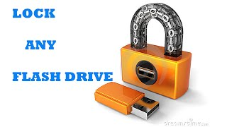 LOCK PENDRIVE WITHOUT ANY SOFTWARE