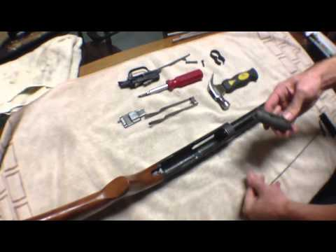 Assembly and disassembly of JC Higgins model 20 12 gauge sho